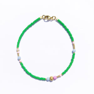 "NEU!! Armband ""GOLDEN GREEN"""