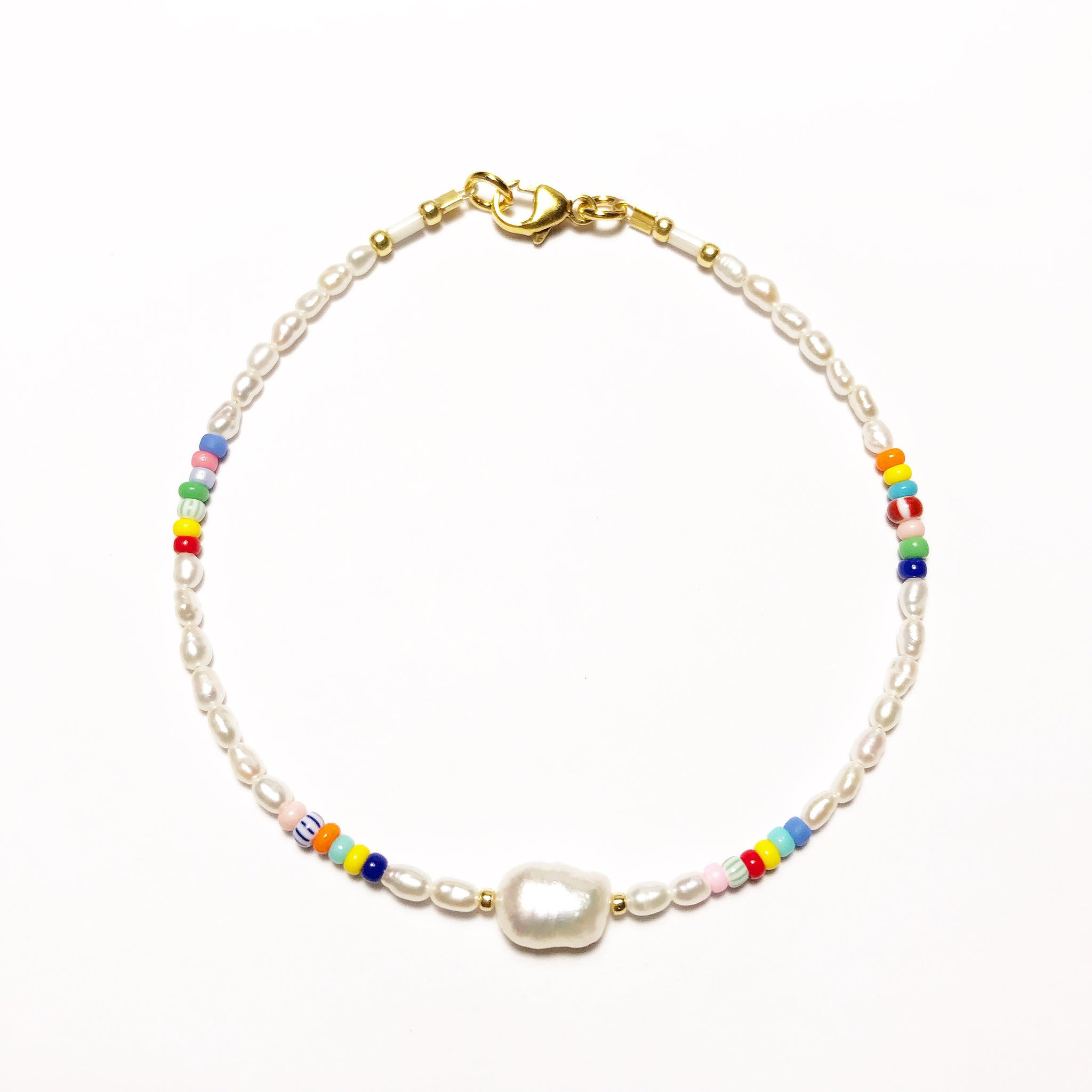 "NEU!! LIMITIERT!! Armband ""PEARLS, PEARL & SOME COLORS"""