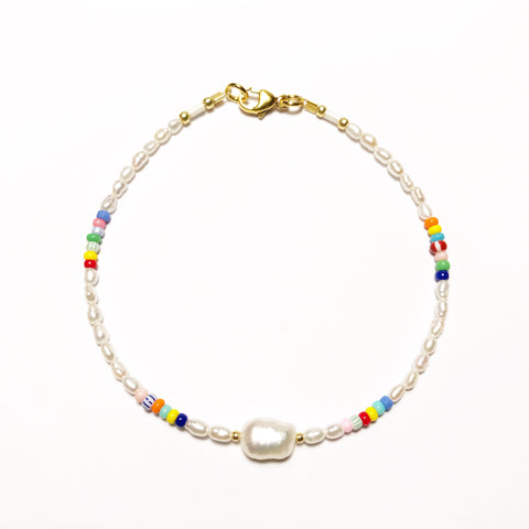 "NEU!! Armband ""PEARLS, PEARL & SOME COLORS"""