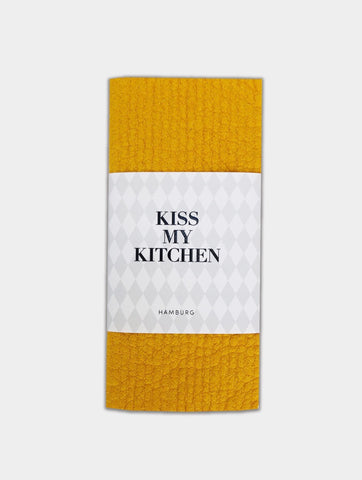 -25% - kiss my kitchen 3-er Set Schwammtücher yellow