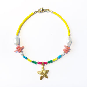 "LAST ONE!! LIMITIERT!! Armband ""STARFISH CORAL"""