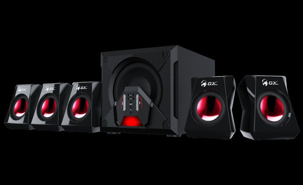 Genius SW-G5.1 3500 80 Watts PC Speaker with Bass | GAMING SPEAKER
