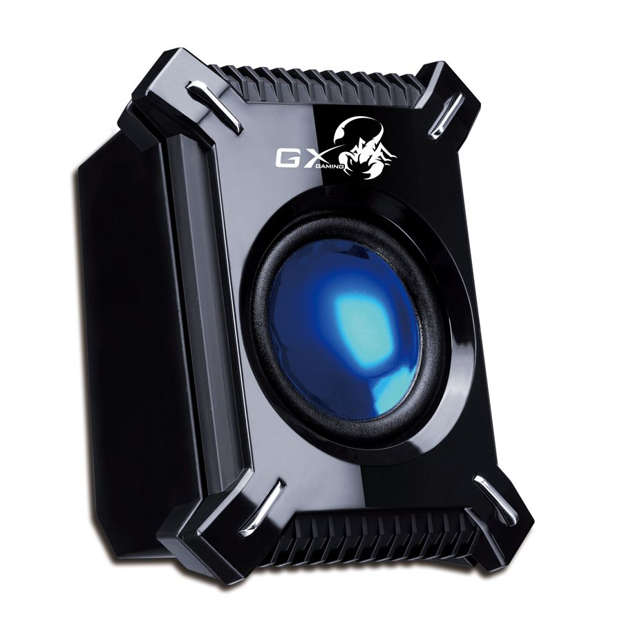 Genius SW-G2.1 2000 45 Watts Desktop Speaker with Bass | GAMING SPEAKER