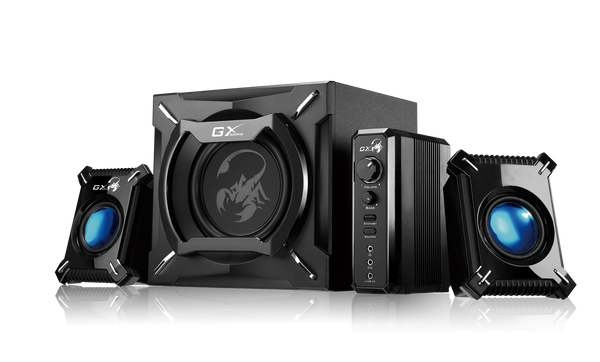 Genius SW-G2.1 2000 II 45 Watts Desktop Speaker with Bass | GAMING SPEAKER