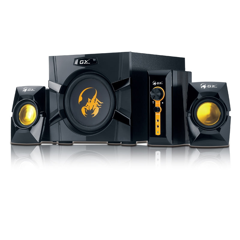Genius SW-G2.1 3000 70 Watts PC Speaker with Bass | GAMING SPEAKER
