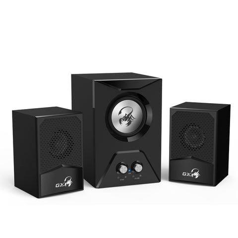 Genius SW-G2.1 500 15 Watts Computer Speaker with Bass | GAMING SPEAKER