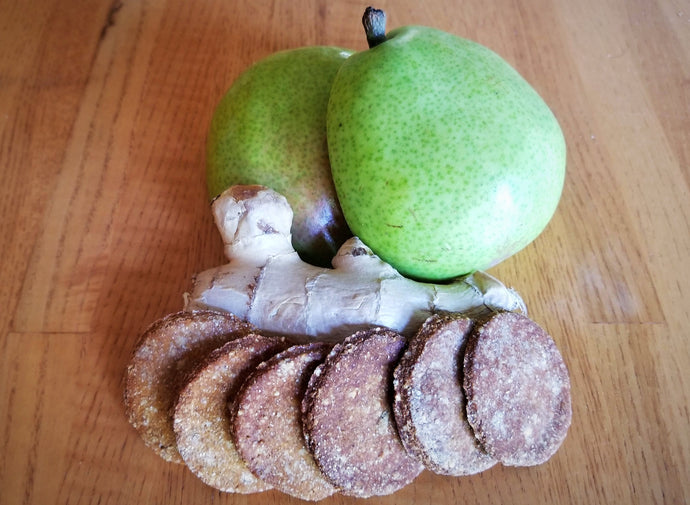 Pear Ginger Cookies