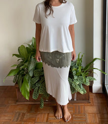 Wilt Slanted Skirt in Cactus/Salt