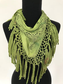 Petrushka Bandana with Fringe