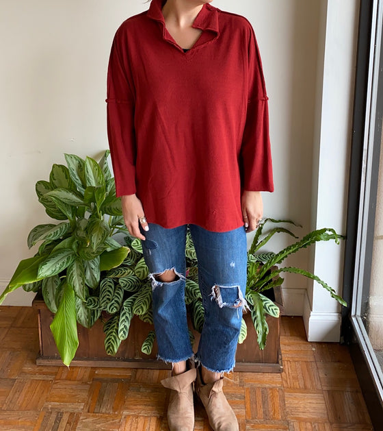Gerties No Button Funnel Tunic