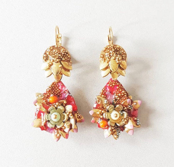Handmade Colorful Earrings from Barcelona