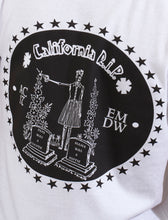 Camiseta blanca CALIFORNIA RIP