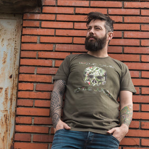 Camiseta verde WELCOME TO THE JUNGLE