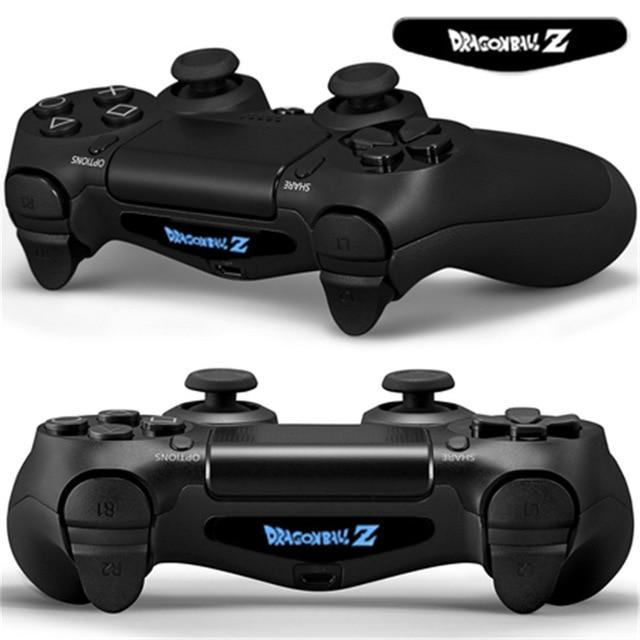 2 Pc Faceplates For Dualshock 4 PS4 Controller LED Light Bar | Decal Sticker Cover - nintendo-core