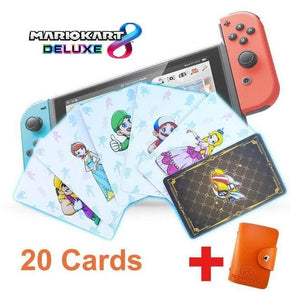 Amiibo Figurine Substitute Cards | (NFC TAGS) For 6 Games - nintendo-core