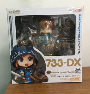 Nendoroid The Legend of Zelda 733DX# Link Breath of the Wild Deluxe PVC Figure
