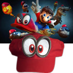 Cappy! ~ The Super Mario Odyssey Handmade Hat Friend from Nintendo Core! (Made to Order) - nintendo-core