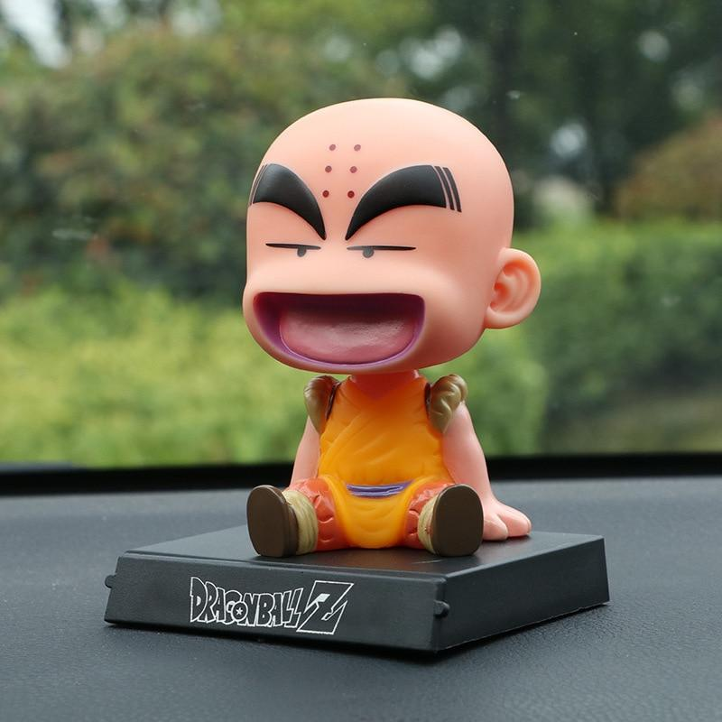 Chibi Goku and Krillin matching Bookend Figurines - nintendo-core