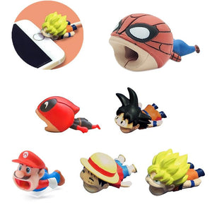 Chomper Pals | USB Power Cable Protectors - nintendo-core