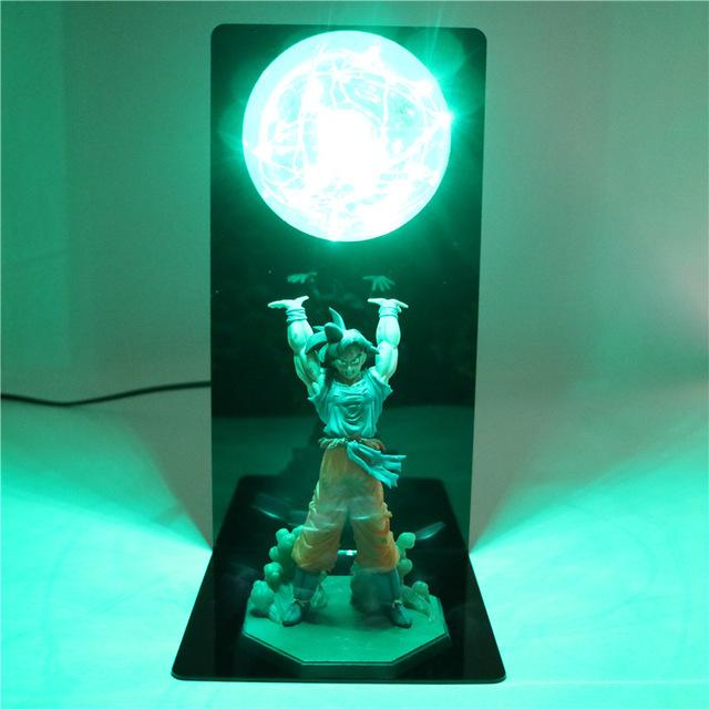 Dragon Ball Z Goku Spirit Bomb LED Night Lamp! - nintendo-core