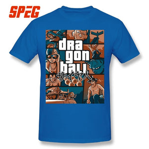 Dragon Ball Z Grand Theft Auto T Shirt - nintendo-core