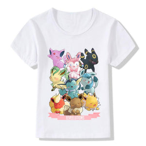 Eevee Evolution T Shirts! Variations Inside! - nintendo-core