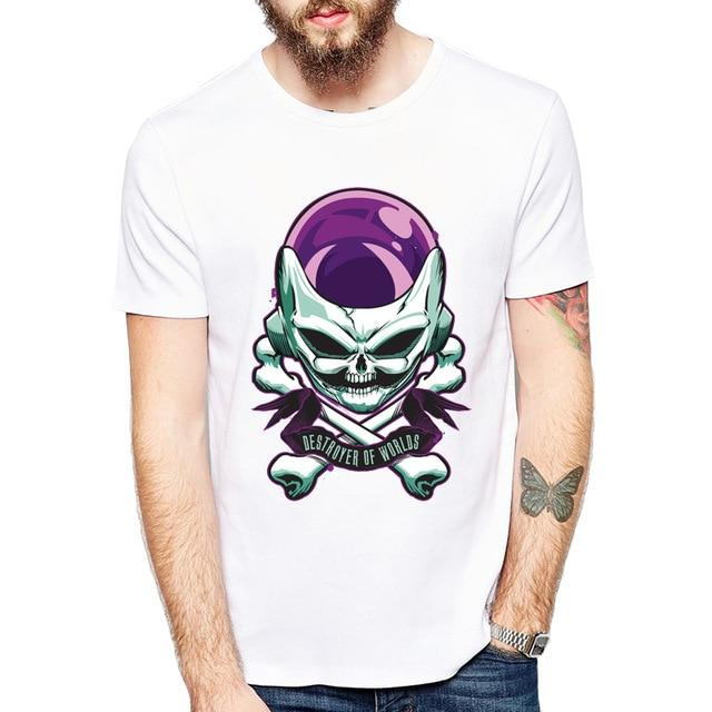 Frieza! Destroyer of Worlds T Shirt! - nintendo-core