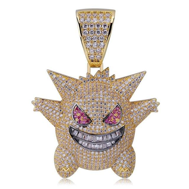 Gengar Necklace Jewelry - nintendo-core