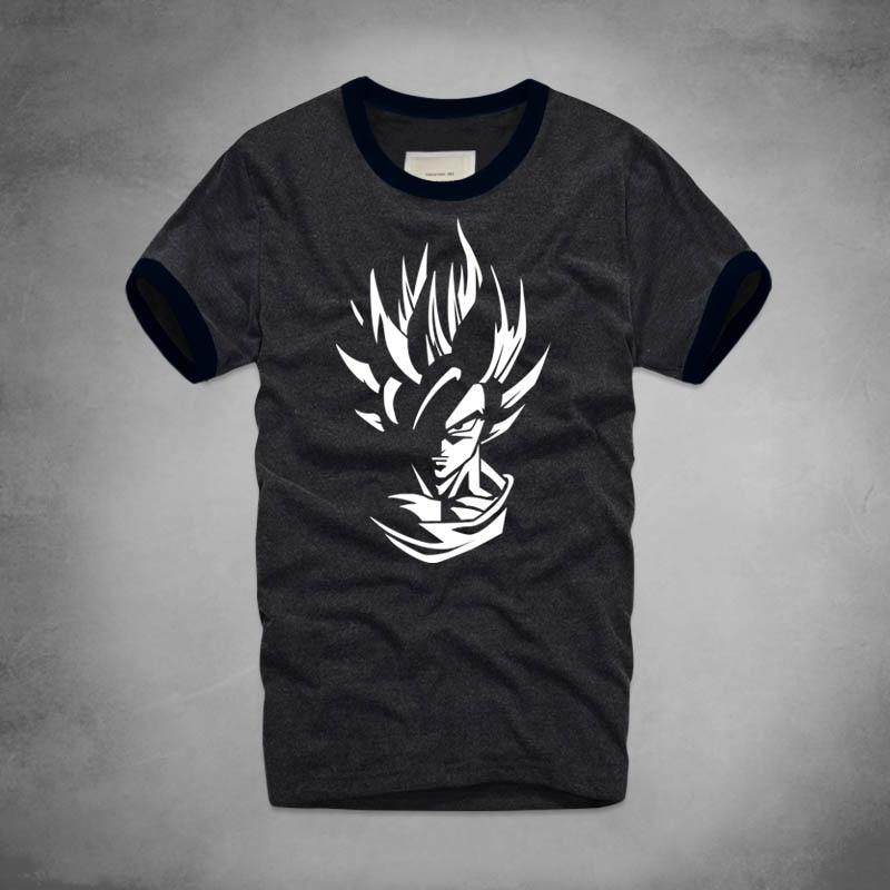 Goku Super Saiyan Silhouette T Shirt! Multiple Varieties inside! - nintendo-core