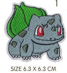Iron On Embroidered Poke Patches - nintendo-core