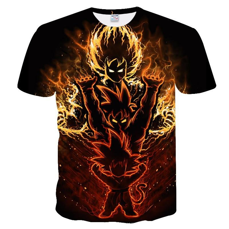 Kid to Adult Goku Transformation T Shirt! - nintendo-core