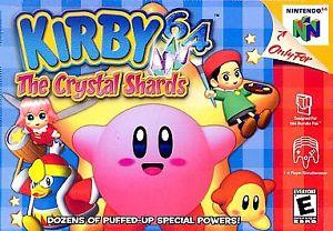 Kirby The Crystal Shards Nintendo 64 Game - nintendo-core