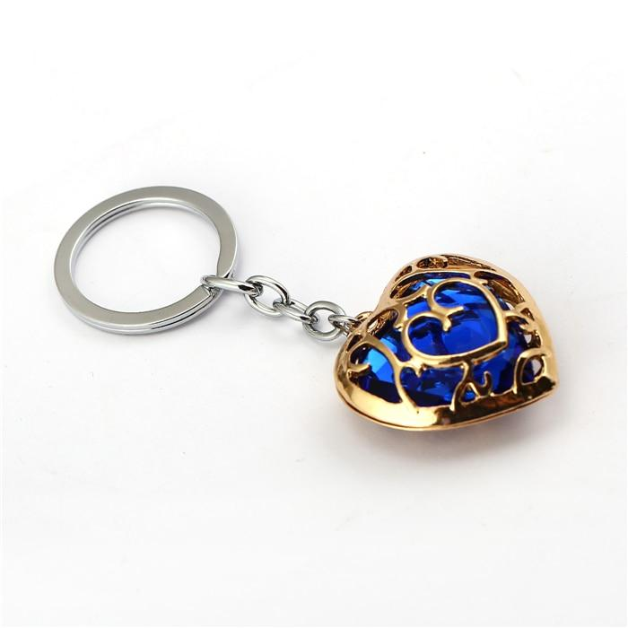 Legend of Zelda Heart Container Keychain - nintendo-core