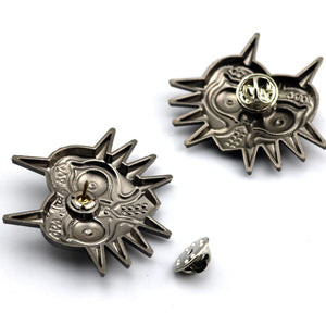 Legend of Zelda Majora's Mask Brooch Pins - nintendo-core