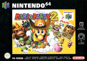 Mario Party 2 Nintendo 64 Game - nintendo-core