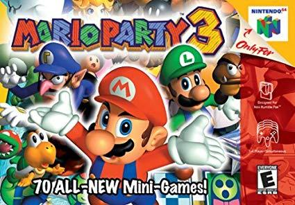 Mario Party 3 64 Video Game - nintendo-core