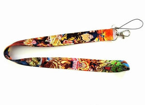 New Dragon Ball Lanyard Keys/ID Neck Straps - nintendo-core