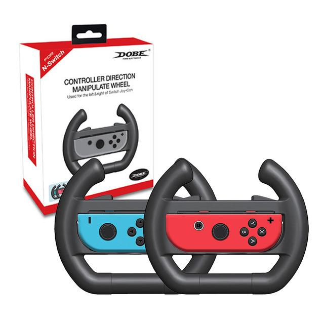 Nintendo Core's Life Extender | Traditional (Set of 2) JoyCon Steering Wheels - nintendo-core