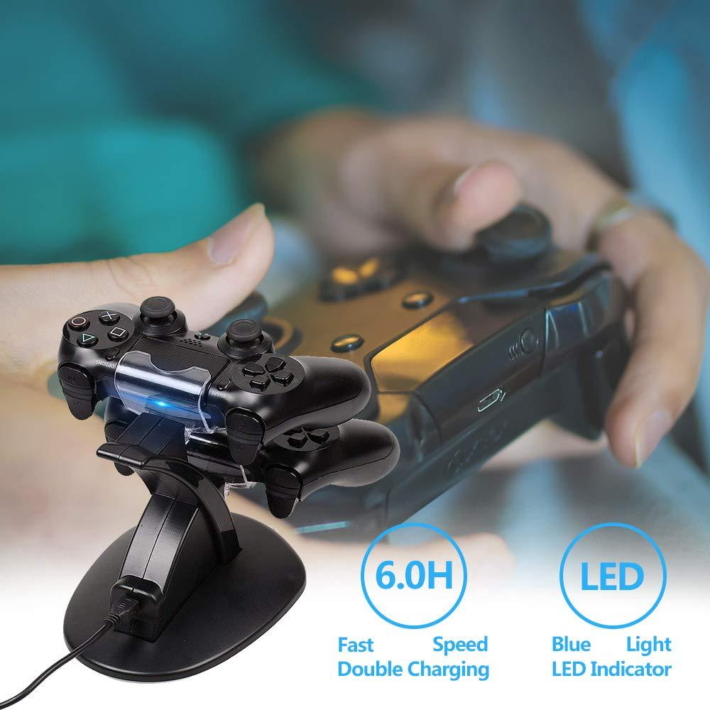 PS4- LED Controller Charger Dock - nintendo-core