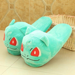 Poke-Slippers! 9 Different Pokemon - nintendo-core