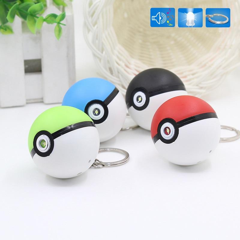 Pokeball Keychain! Shines Light & Plays Music! - nintendo-core