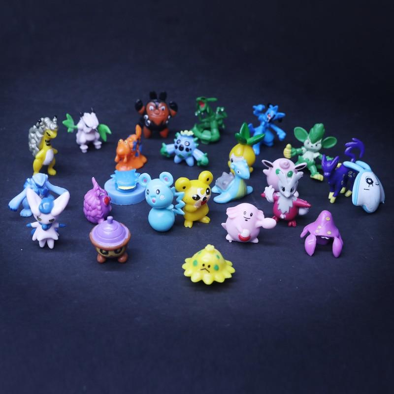 Pokemon Figurines! Packs of 24+ - nintendo-core