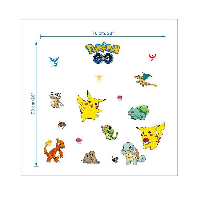 Pokemon GO Decorative Wall Decals - nintendo-core