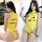 Pokemon Pikachu Tankini cosplay swimsuits | Swim #3 - nintendo-core