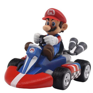 Pull Back and Roll Super Mario Kart Races - nintendo-core