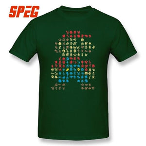 13 Super Mario 30 Year Anniversary Addition Fitted T-Shirts - nintendo-core
