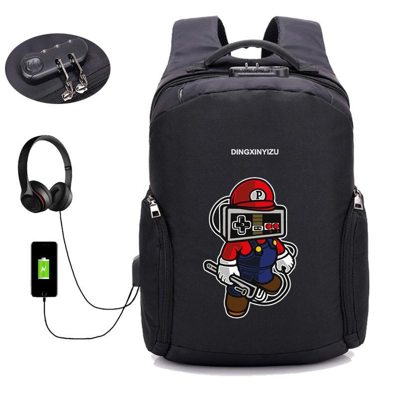 Super Smash Brothers AntiTheft Backpack! Safeguard Yourself! - nintendo-core