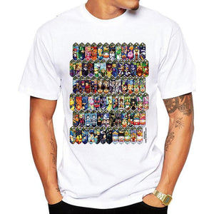 Super Smash Brothers Character Select Screen T Shirt - nintendo-core