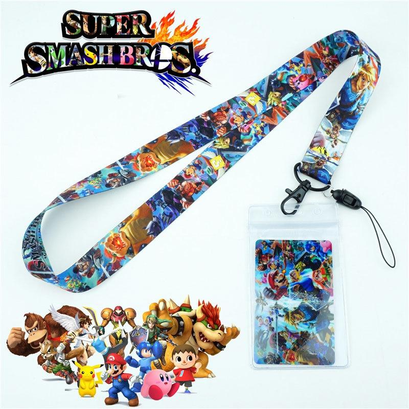 Super Smash Brothers Lanyard - nintendo-core
