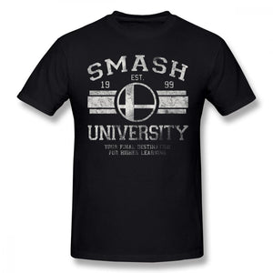 Super Smash Brothers University T Shirt (10 color styles) - nintendo-core